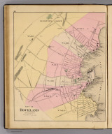 City of Rockland, Knox County. (1885)