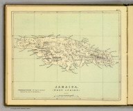 Jamaica. (West Indies.) (Moravia Church establishments). Lithe. by A. Peterson, 9, Charing Cross. (1853)