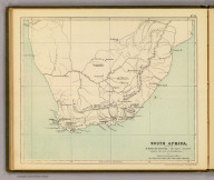 South Africa. (Moravia Church establishments). Lithe. by A. Peterson, 9, Charing Cross. (1853)