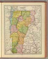 Vermont. (Published by George F. Cram, Chicago, Ill. 1909)