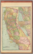 Map of California. George F. Cram, Engraver & Publisher, Chicago, Ill. (1909)