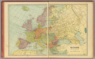 Europe. Published by Geo. F. Cram, Chicago, Ill. (1909)