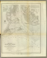 Mouth of Connecticut River. From a trigonometrical survey under the direction of F.R. Hassler and A.D. Bache, Superintendents of the Survey of the Coast of the United States. Triangulation by Capt. W.H. Swift, U.S.A. and E. Blunt, assistants. Topography by H.L. Whiting, assistant. Hydrography by the parties under the command of Lieuts. J.R. Goldsborough and M. Woodhull, U.S.N., assts. Published in 1853. A.D. Bache, Superintendent. Red(uce)d dr(awi)ng by A. Boschke. Eng(ravin)g by S. Siebert, O.A. Lawson & W. Smith. Electrotype copy no. 1 by G. Mathiot, U.S.C.S. (with logo) U.S. Coast Survey Office.