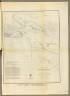 Preliminary sketch of Beaufort Harbor, North Carolina. From a trigonometrical survey under the direction of A.D. Bache, Superintendent of the Survey of the Coast of the United States. Triangulation by C.P. Bolles, assistant. Topography by H.L. Whiting, asst. Hydrography by the party under the command of J.N. Maffitt, U.S.N. asst. 1851. (with logo) U.S. Coast Survey Office.
