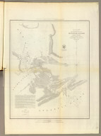 Reconnaissance of New River and Bar, North Carolina. U.S. Coast Survey. A.D. Bache, Superintendent. By the party under the command of Lieut. J.N. Maffitt, U.S. Navy Asst., U.S.C.S. in November 1851. 1852. Electrotype copy no. 1 by G. Mathiot, U.S.C.S. (with logo) U.S. Coast Survey Office.