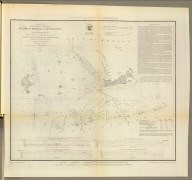 Preliminary chart of Key-West Harbor and approaches. From a trigonometrical survey under the direction of A.D. Bache, Superintendent of the Survey of the Coast of the United States. Triangulation by J.E. Hilgard, assistant. Topography by I.H. Adams, asst. Hydrography by the party under the command of Lt. John Rodgers, U.S.N. & asst. U.S.C.S. 1852. Second edition. Reduction for engraving by E.K. Knorr. Outlines & topography engraved by A. Rolle, lettering by Edw. Yeager. Electrotype copy no. 1 by G. Mathiot, U.S.C.S. (with logo) U.S. Coast Survey Office.