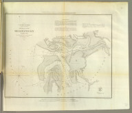 Preliminary survey of Shoalwater Bay, Washington. U.S. Coast Survey. A.D. Bache, Superintendent. By the hydrographic party under the command of Lieut. James Alden, U.S.N., asst. 1853. Redd. drng. by A. Boschke. Engg. by J. Young & S.E. Stull. Electrotype copy no. 1 by G. Mathiot, U.S.C.S. (with logo) U.S. Coast Survey Office.