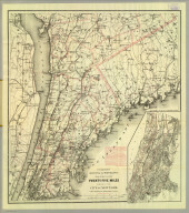 Colton's driving & wheeling map of the country twenty five miles north of the city of New York. (with) New York City north of Central Park. G.W. & C.B. Colton & Co. 312 Broadway, New York. Entered ... 1892 by G.W. & C.B. Colton & Co. ... Washington.