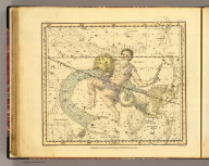 (Capricornus and Aquarius). Published, February 1, 1822, by G. & W.B. Whittaker, T. Cadell & N. Hailes, London. Drawn by A. Jamieson for 1820. Neele & Son, 352 Strand.