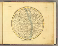 Stereographic projection of the Southern Celestial Hemisphere on the plane of the equinoctial. Published, Feby. 1, 1822, by G. & W.B. Whittaker, T. Cadell & N. Hailes, London. Drawn by A. Jamieson, A.M., 1822. Neele & Son, sculp., 352 Strand.