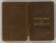 (Covers to) Nebraska and Kansas. Published by J.H. Colton & Co. No. 172 William St., New York. Entered ... 1854 by J.H. Colton & Co. ... New York. Printed by D. McLellan, 26 Spruce St., N.Y.