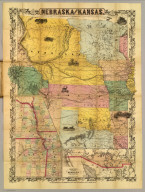 Nebraska and Kansas. Published by J.H. Colton & Co. No. 172 William St., New York, 1857. (with) Territory acquired from Mexico by the Gadsden Treaty. (with untitled inset of eastern Nebraska and Kansas and western Iowa and Missouri).