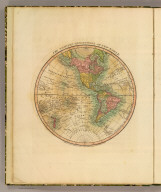 The Western Hemisphere or New World. London, Printed and published October 1st, 1811 by William Darton Junr., 58 Holborn Hill.