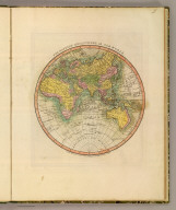 The Eastern Hemisphere or Old World. London, Published October 1st, 1811 by William Darton Junr., 58 Holborn Hill.