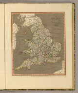 A new map of England and Wales. London, Published March 5th. 1813, by William Darton Junr., Holborn Hill.