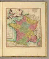 A new map of France, divided into its departments. By William Darton, engraver. London, Published June 1, 1811 by William Darton Junr., engraver & printer, 58 Holborn Hill.