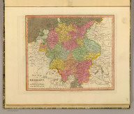 A new map of Germany. London, Published Aug. 1, 1811 by Willm. Darton Junr., 58 Holborn Hill.