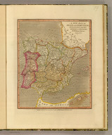 A new map of Spain and Portugal, divided into their respective kingdoms and provinces, by William Darton, Engraver. London, Printed and published Septr. 26, 1811, by Willm. Darton, 58 Holborn Hill.