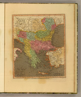 A new map of Turkey in Europe. London, Published Nov. 28, 1811, by Willm. Darton Junr., 58 Holborn Hill.