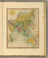 A new map of Asia, from the best authorities. Engraved by William Darton. Published by Willm. Darton Junr., No. 58 Holborn Hill, Feby. 21st 1811.