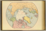 Map of the countries round the North Pole. London atlas series. Stanford's Geographical Estabt., London. London : Edward Stanford, 26 & 27 Cockspur St., Charing Cross, S.W. (1901)