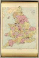 England and Wales. London atlas series. Stanford's Geographical Establishment. London : Edward Stanford, 12, 13 & 14, Long Acre, W.C. (1901)