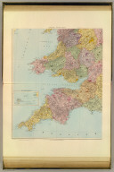 (England and Wales). England, south-west. London atlas series. (Stanford's Geographical Establishment). London : Edward Stanford, 12, 13 & 14, Long Acre, W.C. (1901)