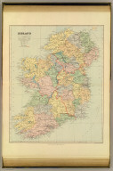 Ireland. London atlas series. Stanford's Geographical Establishment. London : Edward Stanford, 26 & 27 Cockspur St., Charing Cross, S.W. (1901)