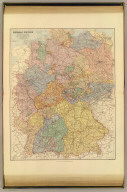 German Empire (western part). London atlas series. Stanford's Geographical Estabt. London : Edward Stanford, 26 & 27 Cockspur St., Charing Cross, S.W. (1901)