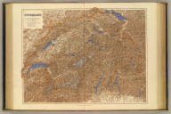 Switzerland. London atlas series. Drawn for the heliogravure process at Stanford's Geographical Establishment. London : Edward Stanford, 26 & 27, Cockspur St., Charing Cross, S.W. (1901)