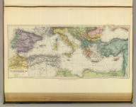 The countries around the Mediterranean Sea. London atlas series. Stanford's Geographical Establishment. London : Edward Stanford, 26 & 27, Cockspur St., Charing Cross, S.W. (1901)