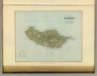 The island of Madeira (Portuguese). London atlas series. Stanford's Geogl. Estabt., London. London : Edward Stanford, 26 & 27, Cockspur St., Charing Cross, S.W. (1901)