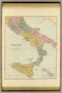 South Italy. (with) The islands of Malta and Gozo. London atlas series. Stanford's Geographical Estabt. London : Edward Stanford, 26 & 27 Cockspur St., Charing Cross, S.W. (1901)