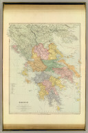 Greece. London atlas series. Stanford's Geographical Establishment. London : Edward Stanford, 26 & 27, Cockspur St., Charing Cross, S.W. (1901)