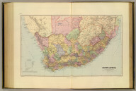 South Africa. London atlas series. Stanford's Geogl. Estabt., London. London : Edward Stanford, 12, 13 & 14, Long Acre, W.C. (1901)