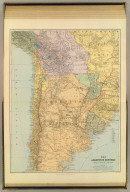 The Argentine Republic, Chile, Paraguay, Uruguay. London atlas series. Stanford's Geogl. Estabt. London : Edward Stanford, 26 & 27, Cockspur St., Charing Cross, S.W. (1901)