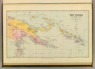 New Guinea & the Solomon Islands. London atlas series. Stanford's Geographical Establishment. London : Edward Stanford, 26 & 27 Cockspur St., Charing Cross, S.W. (1901)