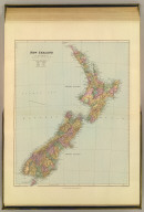 New Zealand. London atlas series. Stanford's Geographical Estabt. London : Edward Stanford, 12, 13 & 14, Long Acre, W.C. (1901)