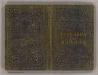 (Covers to) Nebraska and Kansas. Published by J.H. Colton & Co. No. 172 William St., New York, (1855). Entered ... 1855 by J.H. Colton ... New York.
