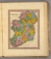 Ireland. (Written and engraved by Jos. Perkins. 1845)
