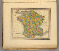 France, in departments. (Written and engraved by Jos. Perkins. 1845)