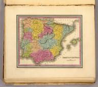 Spain & Portugal. (Written and engraved by Jos. Perkins. 1845)