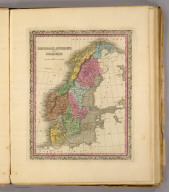 Denmark, Sweden and Norway. (Written and engraved by Jos. Perkins. 1845)