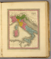 Italy. (Written and engraved by Jos. Perkins. 1845)