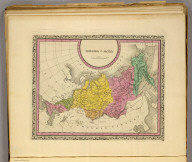 Russia in Asia. (Written and engraved by Jos. Perkins. 1845)