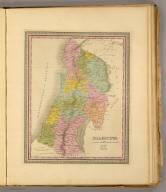 Palestine. (Written and engraved by Jos. Perkins. 1845)
