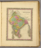 Hindoostan. (Written and engraved by Jos. Perkins. 1845)