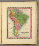 South America. (Written and engraved by Jos. Perkins. 1845)