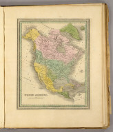North America. (Written and engraved by Jos. Perkins. 1845)