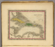 West Indies. (Written and engraved by Jos. Perkins. 1845)